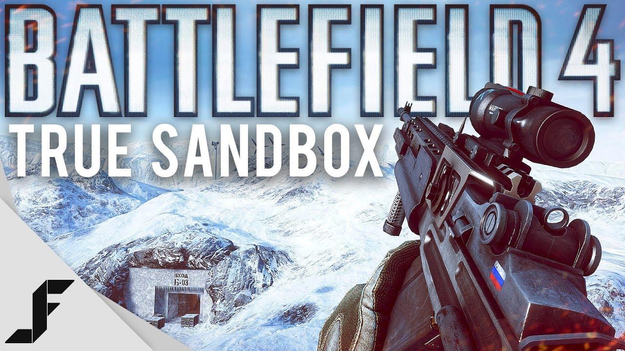 Battlefield 4 was the true Sandbox game