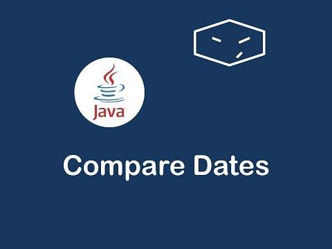 compare dates in java