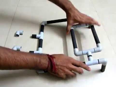 DIY : Laptop Stand Using PVC PIPE(Do iT YourSelf)