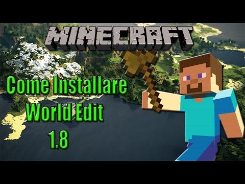 Come Installare World Edit Per Minecraft 1.8 | Tutorial Italiano | By AnimeBouster