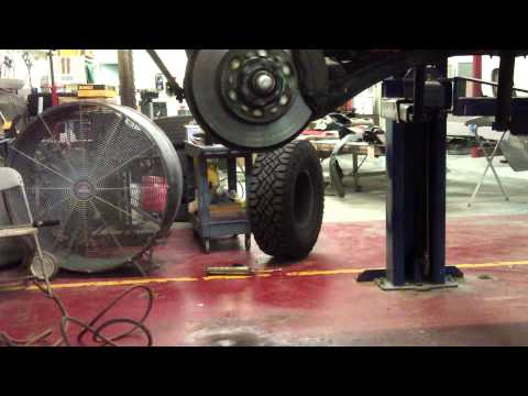 80 Series Land Cruiser Spin Test after Bearing replacement