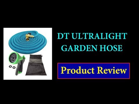 Amazon Product Review - DT ULTRALIGHT Retractable Garden Hose 50 ft - Product Review