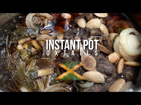 INSTANT POT RECIPES | Caribbean Stew Oxtails 🇯🇲