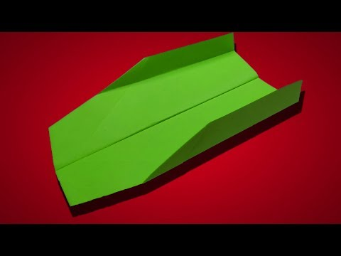 How to make a paper plane that flies 10000 feet easy