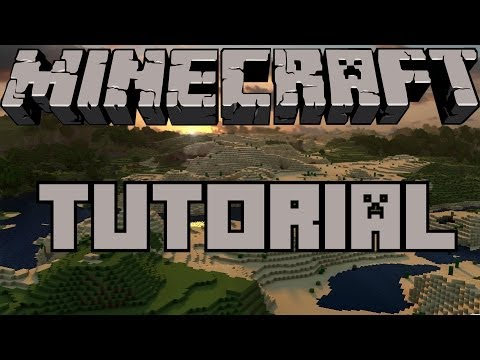 Minecraft Tutorial - How To Make A Automatic Day And Night Sensor Redstone Lamp