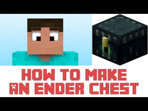Minecraft - How To Make An Ender Chest In Minecraft