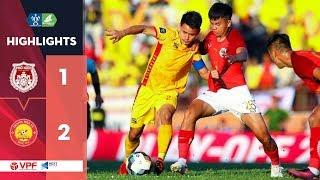 Phố Hiến – Thanh Hóa FC | Đình Tùng tỏa sáng, kinh nghiệm thắng thế! | VPF Media