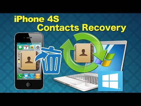 iPhone 4S Contacts Recovery: How to recover lost contacts from iPhone 4s without itunes backup