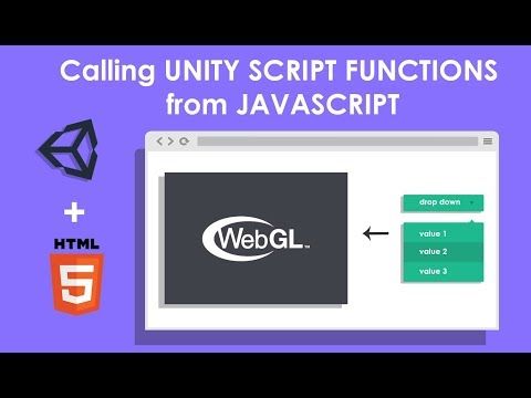 Unity WebGL: Interacting with browser scripting , calling unity script function from java script