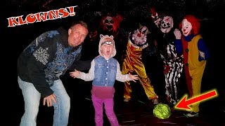CAVE MONSTER ESCAPED!! Creepy Clowns Stole our Cave Monster Trap!!