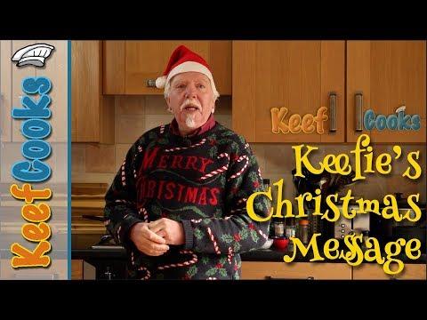 Keefie's Christmas Message | KitchenAid Artisan Unboxing