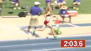Katelyn Tuohy breaks national HS mile record!