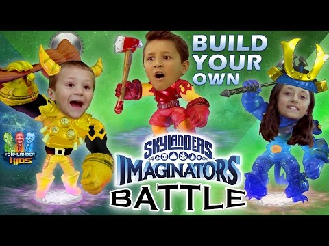 Skylanders Imaginators Battle w/ Sky Kids!