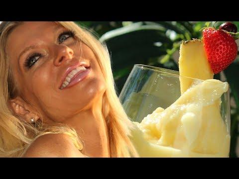 Healthy PINA COLADA RECIPE  non dairy non alcoholic vegan easy fast r