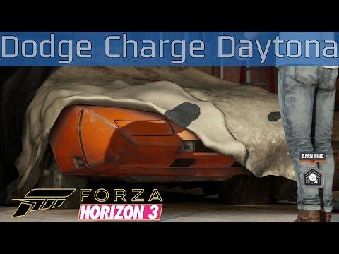 Forza Horizon 3 - Dodge Charger Daytona Hemi Barn Find Walkthrough [HD 1080P]