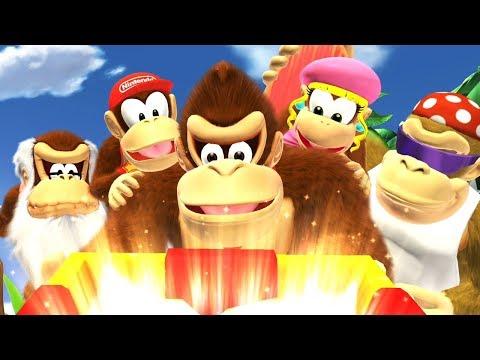 Donkey Kong Country Tropical Freeze - Walkthrough Part 6 - World 6