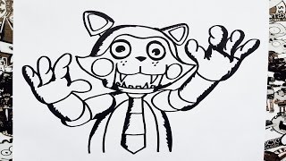 Como Dibujar A Chester De Five Nights At Candys How To Draw