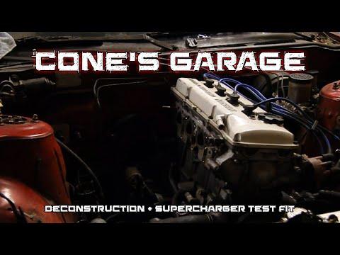 Cone's Garage | Project KA24DER Part 2 - Deconstruction & Test Fit
