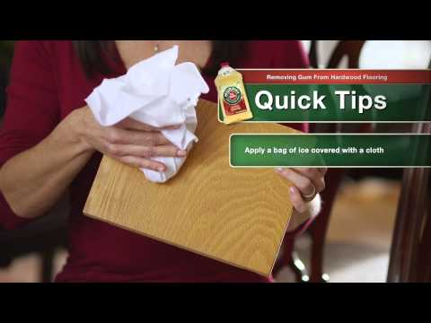 How to Remove Gum from Wood Floors