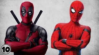 Top 10 Similarities Between Deadpool Spider man