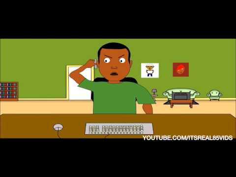 Facebook Struggle (animation skit)