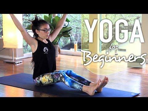 Yoga For Complete Beginners - 30 Minute Full Body Beginner Flow