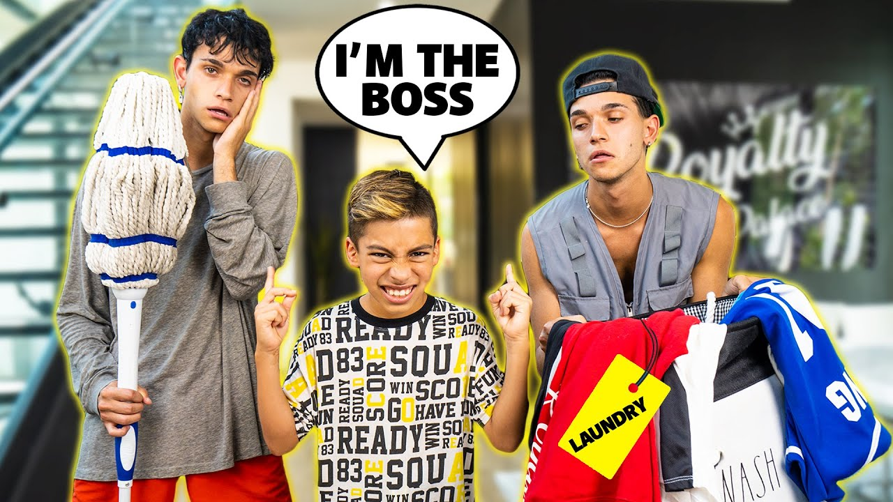 FERRAN Stays HOME ALONE With LUCAS And MARCUS! (BAD IDEA)   The Royalty Family