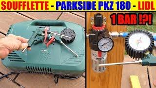 Lidl Compresseur Parkside Pkz 180 Test Soufflette