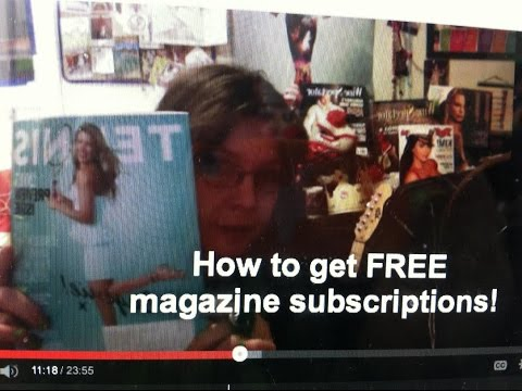 [Vlog 7.16.15] - Freebie tips: how I get FREE magazine subscriptions