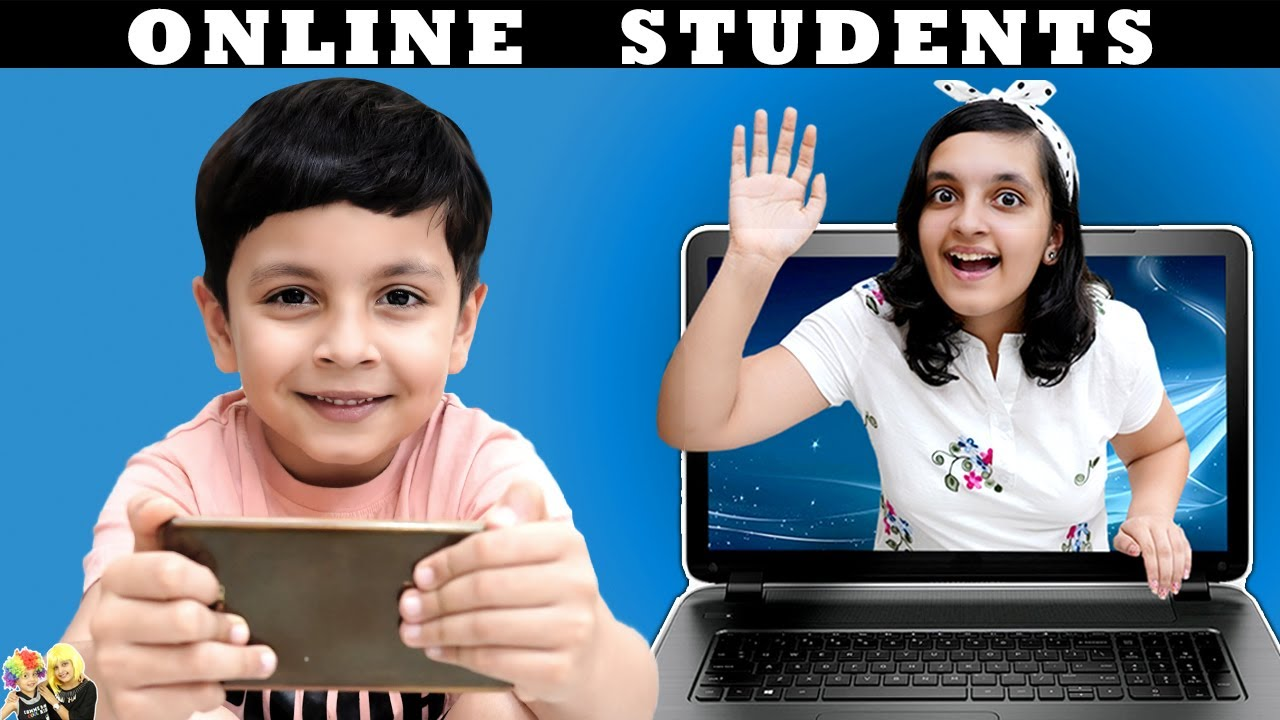 ONLINE STUDENTS   Comedy Video   Types of Students   Aayu and Pihu Show