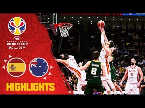Spain v Australia - Full Game Highlights - Semi-Final - FIBA Basketball World Cup 2019