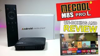 M8S Pro L (Pro Plus) Android TV Overview - PlayingItNow: All