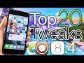 Top 20 iOS 8.4 Cydia Tweaks - Best TaiG 8.4 Jailbreak & iOS 8.3 Compatible 2015 Tweaks