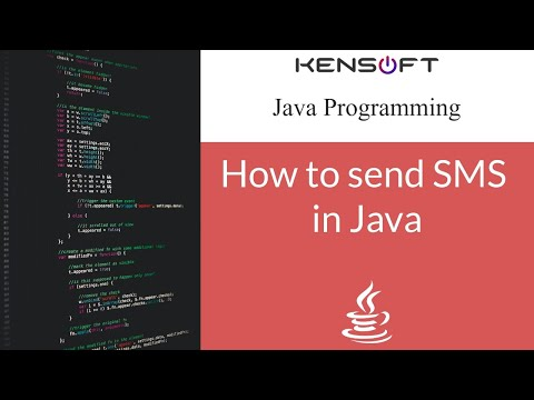 Java Netbeans - Send SMS program
