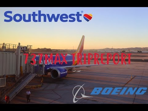 SOUTHWEST MAX8 TRIPREPORT | Southwest Airlines (Economy) | PHX to LAX | Boeing 737MAX8