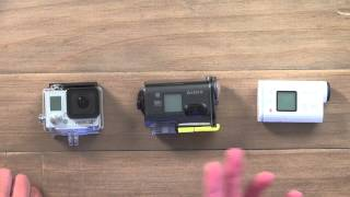 Sony LearnTV. The HDR-AS100 ActionCam and the GoPro Hero 3+ Black