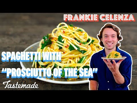 Spaghetti With Bottarga I Frankie Celenza