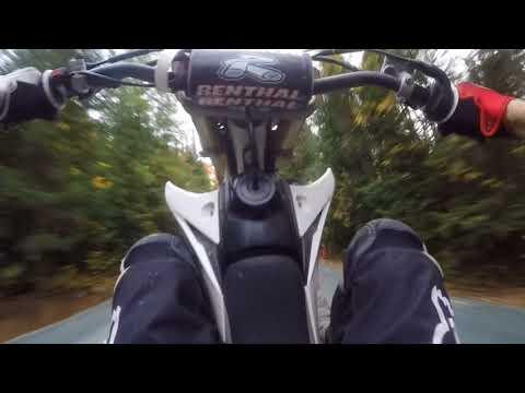 Yz450f dirt bike wheelie