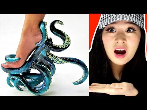 The Most CRAZY And WEIRD SHOES!!