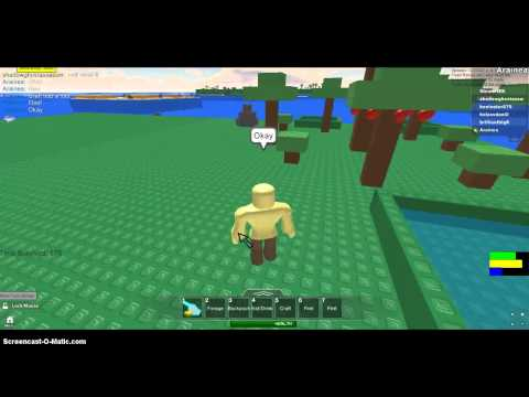 How To Make A Fire On ROBLOX Survival 404.