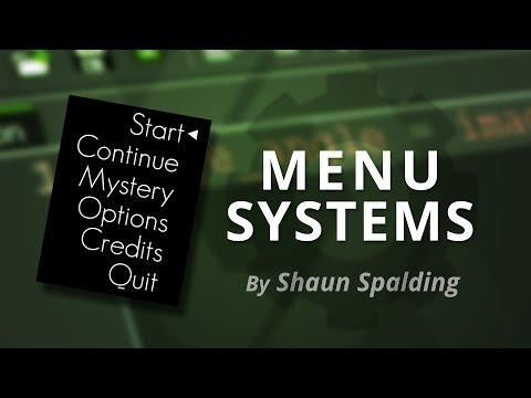 GameMaker Studio: Menus Tutorial