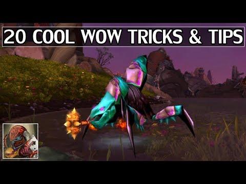 20 Cool WoW Tips & Tricks