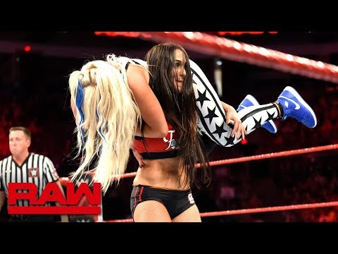 Xxx Mp4 The Bella Twins Return To Action Against The Riott Squad Raw Sept 3 2018 3gp Sex