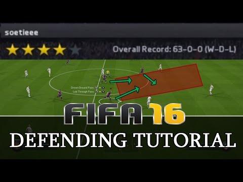 FIFA 18 (15) - DEFENDING TUTORIAL - ADVANCED TECHNIQUES