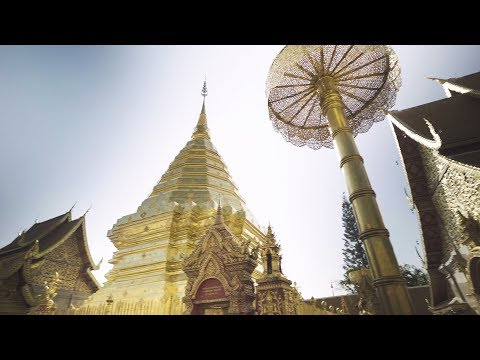 Wat Phra That Doi Suthep // Most sacred temple in Thailand 4K