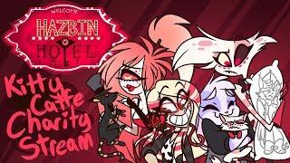 HAZBIN HOTEL Charity Sketch Request Stream Ft. Vivziepop, Cherri Bomb, and Angel Dust!