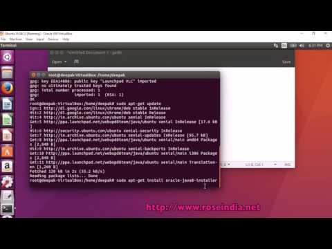 How to Install Oracle Java JDK 8 in Ubuntu 16.04?