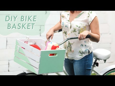 DIY Crate Bike Basket | Makeful