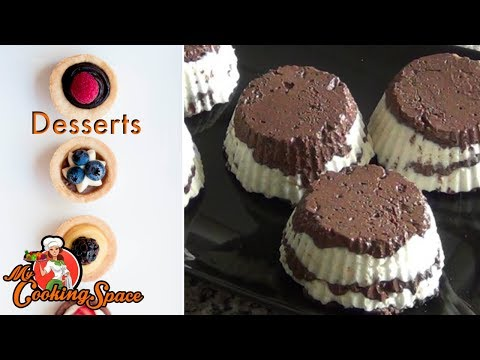 Cottage Cheese Dessert|No Bake - Healthy Low Fat Dessert|My Cooking Space