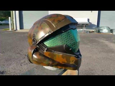 Custom Wearable Halo 5 Buck Helmet
